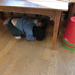 2月10日 未就園児クラス「避難訓練」「体操」