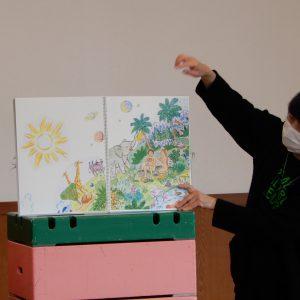 3月1日 合同礼拝「新しい教え」年少・年長園外保育