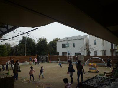3月12日 卒園式総練習と年少児園庭開放