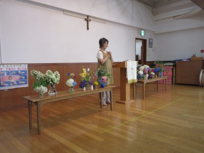 6月14日 花の日・子どもの日礼拝